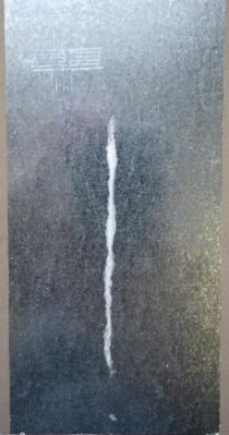Galvanized steel with ASCONIUM - 650h of salt spray