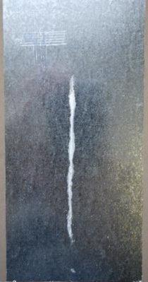 Galvanized steel without ASCONIUM - 650h of salt spray