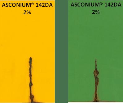ASCONIUM® in colored paints